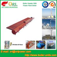 Wholesale Condensing Gas Boiler Low Loss Headers , Power Station Heating Header Tank from china suppliers