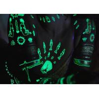 Wholesale Water Transfer Glow In The Dark Temporary Tattoos Stickers Ultraviolet Blacklight from china suppliers