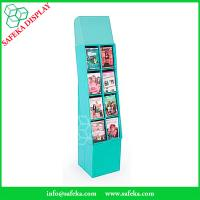 Buy cheap 8 pockets Paper material book shelf cardboard point of sale display shelves for from wholesalers