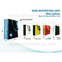 Wholesale NON WOVEN SHOPBAG, pp woven bags, nonwoven bags, woven bags, big bag, fibc, jumbo bags,tex from china suppliers