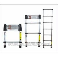 China Single sides high quality safety  aluminum telescopic ladder 3.8m for sale