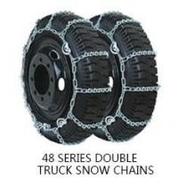 China Single / Wheel Anti Skid Chains 28 / 48 Series Truck Tire Chains on sale