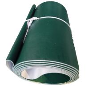 China Industrial PVC/PU Rough Top Conveyor Belt Sushi   Antiskid Grass Pattern Conveyor Belt on sale