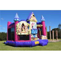 Wholesale Brightly Color Disney Princess 5 In1 Combo Jumping Castle For Amusement Park from china suppliers