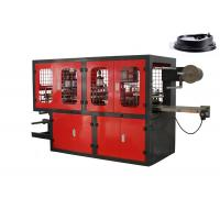 China Takeaway Coffee Cup Thermoforming Plastic Lid Forming Machine 65mm - 165mm Stoke on sale