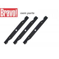 China Black Lawn And Garden Equipment Parts Steel Lawn Mower Blades Replacement on sale