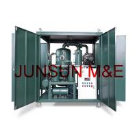 Wholesale Weather Proof Transformer Oil Treatment Plants, Double-Stage High Vacuum Dielectric Oil Filter Machine from china suppliers