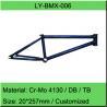 Chromoly BMX Bike Frame / Freestyle Bicycle Frame Manufacturer for sale