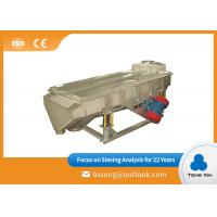 China Professional  Linear Vibrating Screen Continuous Work Vibrating Screen Equipment on sale