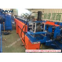 China Top Hat Purlin Roof Truss Forming Machine With Embossing / Stiffener on sale