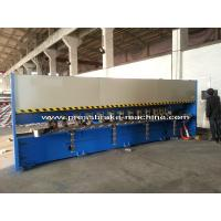 Buy cheap Manual Roll Grooving Machine Sheet Metal Shear H4C Control System from Wholesalers
