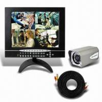 Wholesale 15-inch All-in-one 4CH LCD DVR, Supports Audio and DDNS from china suppliers