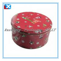 Wholesale Round Cookie tin can for food packing from china suppliers