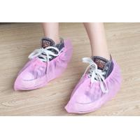 Wholesale Pink Color Disposable Shoe Protectors Non Woven Material With Elastic Top from china suppliers