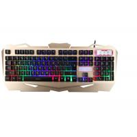 Wholesale Korea Layout USB Gaming Keyboard Multimedia With Suspension Keycaps Aluminum Cover from china suppliers