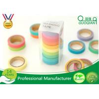 Wholesale Arts / Gift Crafts Wrapping Japanese Washi Paper Tape Girls Favorite Color from china suppliers