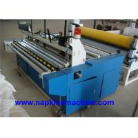 Wholesale Laminated Small Toilet Paper Making Machine 1200mm With Plc Programming Control from china suppliers
