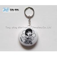 Quality ABS Music Keyring Music Keychain With Customized Logo , Customized Sound for sale