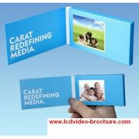 Wholesale 4.3 inch video greeting card / Trade show invitation LCD digital advertising electronic brochure from china suppliers