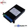Lan 1x8 PLC Fiber Optic Splitter Standard LGX Cassette Low Insertion Loss for sale