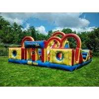 Wholesale Adventure Backyard Obstacle Course Bounce House Kids Fun Obstacle Course Jumpers from china suppliers