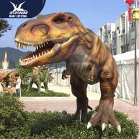 Big Infrared Sensor Outdoor Dinosaur With Eyes Blink Forepaws Moving for sale