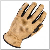 Buy cheap High Quality Leather Cotton Back Driver Glove ZM 107-J from wholesalers