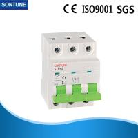 China Magnetic Miniature Circuit Breakers3P 400V Short Circuit Protection on sale