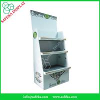 Quality Customized printing 3 tier Paper material FSDU Cardboard pop up Display and Rack for sale