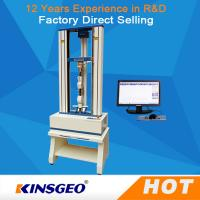 Wholesale 0.5~1000mm/min Speed Ball Screw Universal Testing Machines For Metal / Plastic / Rubber from china suppliers