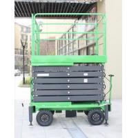 China 12 Meters Mobile Scissor Lift 1000Kg Loading Capacity For Working At Height for sale