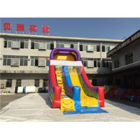 Wholesale Rainbow Commercail Inflatable Slide For Kids With Full Printing from china suppliers
