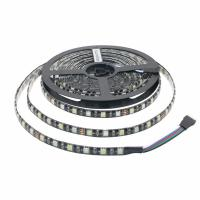 CE Rohs Dc12v Black Pcb 3 Chips Flexible 5050rgbw Led Strip for sale