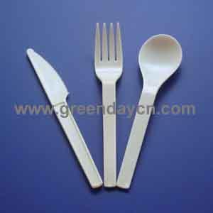 PSM corn starch cutlery
