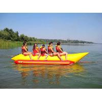 Wholesale Exciting 5 Seats Inflatable Water Toys / Banana Boat Tube EN71 Approved from china suppliers