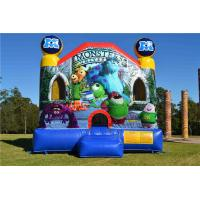 Wholesale Multifunctional Inflatable Bouncer House , Large Commercial Monsters University Adult Jumping Castle from china suppliers