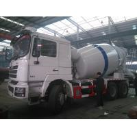 China SHACMAN 10m3 concrete mixing truck on sale