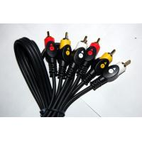 Wholesale Dual colour 3RCA-3RCA Cable for DVD, Set top box(STB), HDTV etc from china suppliers