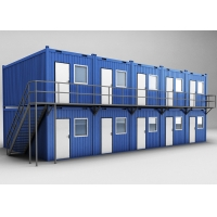 China CE SGS BV TUV UL 20ft Shipping Container Van Prefab House Movable Modified Container Home on sale
