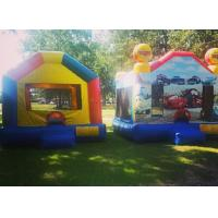 Wholesale Kids Inflatable Bouncer House , Comercial Moonwalk Bounce House Jumpers For Party from china suppliers