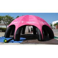 Wholesale Outdoor Advertising Inflatable Tent , Inflatable Spider Dome Tent with Legs from china suppliers