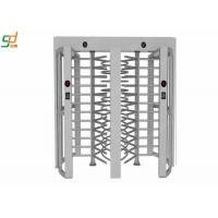 Wholesale Single Channel Full Height Turnstiles , Remote Control Security Gate Turnstile from china suppliers