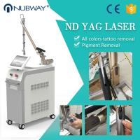 Buy cheap Long life use high end quality Korea arm imported Q switch Nd Yag Laser Tattoo Removal Machine from wholesalers
