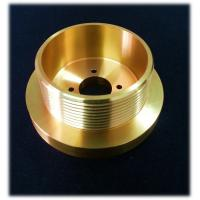 Wholesale CNC Machining Preciaion Brass Turned Parts For Military , Cylindricity 0.005mm from china suppliers