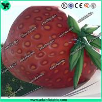 Wholesale Event Inflatable Fruits Model/Inflatable Strawberry Replica from china suppliers