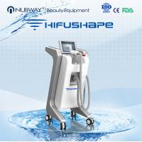Wholesale Hifu slimming machine As Ultrashape/ Liposonix / 250khz for fat layer 12mm from china suppliers