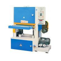 Quality High Precision Wide Belt Sander Machine For Floor Feeding Speed 5-19 M/Min for sale