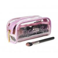 Quality Transparent PVC Cosmetic Bag Lovely Makeup Pouch Organizer With Multi Pockets for sale