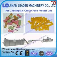 Wholesale High efficiency chewing jam center pet food production line from china suppliers