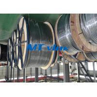 Wholesale ASTM A269 / ASME SA269 Stainless Steel Coiled Tubing , coiled stainless tubing from china suppliers